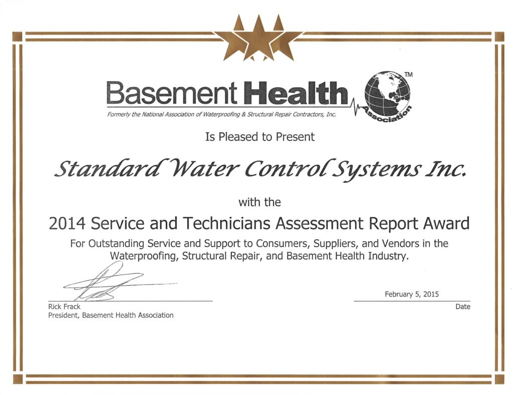 Basement-Health-Star-Award-2014