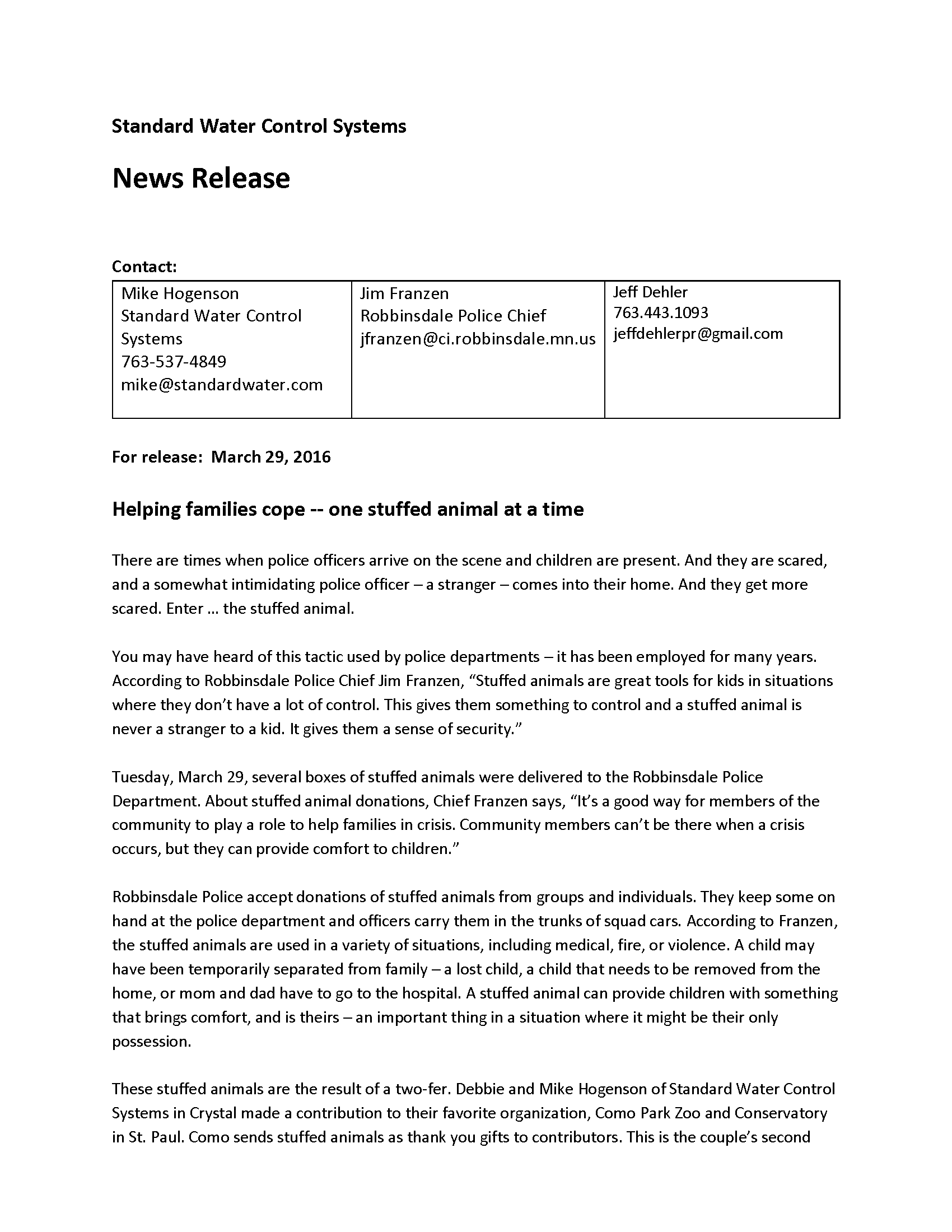 Stuffed animal donation press release_Page_1