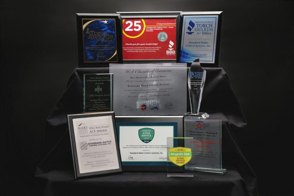 standard water awards